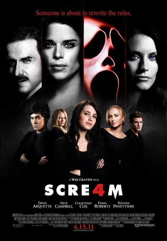 Review: SCREAM 4 | Atthemovieswithbillyandbrian's Blog
